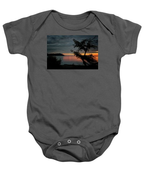 End Of The Trail Baby Onesie