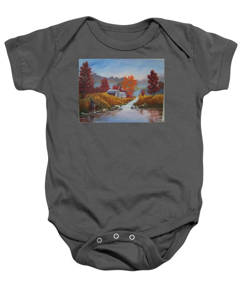 English Countryside Baby Onesie