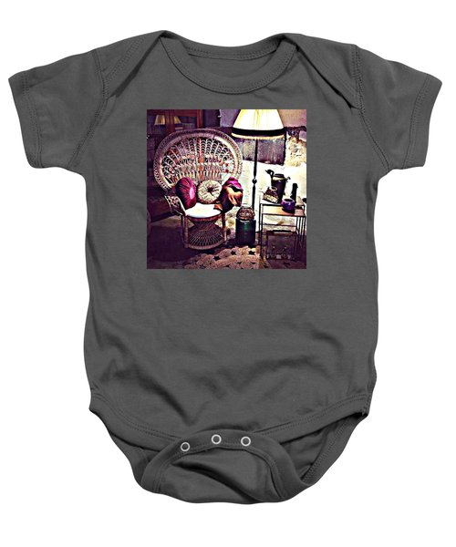 Enjoy The Silence Baby Onesie