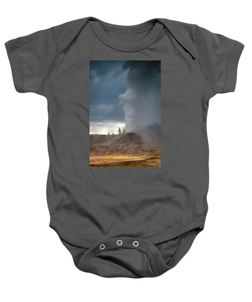 Eruption Baby Onesie