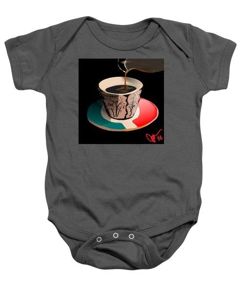 Espresso Baby Onesie