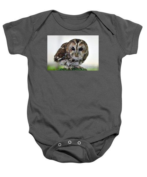 Eurasian Tawny Owl Baby Onesie