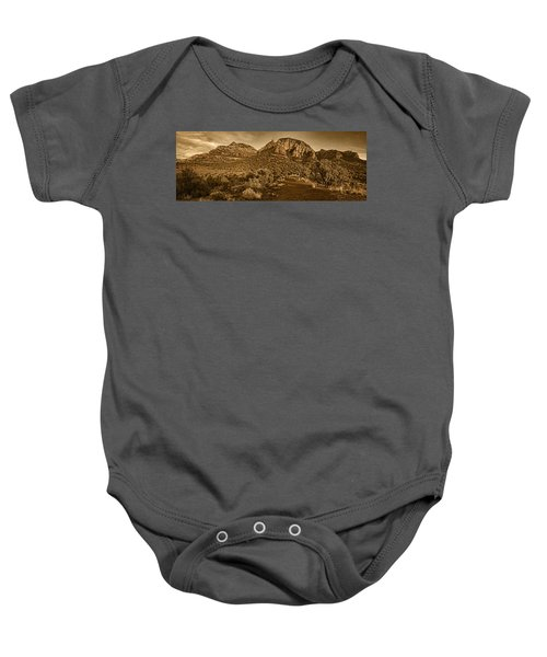 Evening At Dry Creek Vista Tnt Baby Onesie