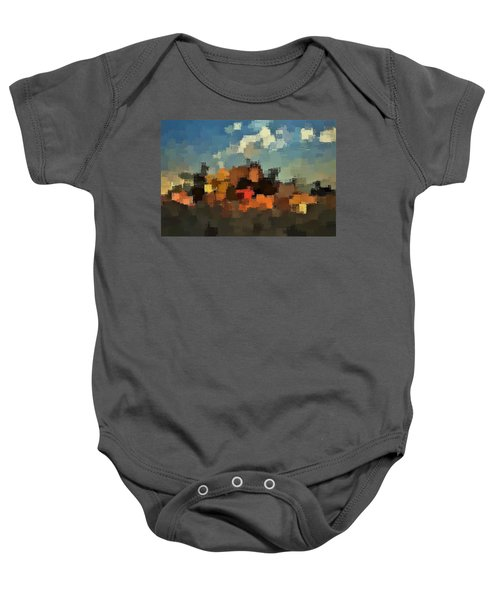 Evening At The Farm Baby Onesie
