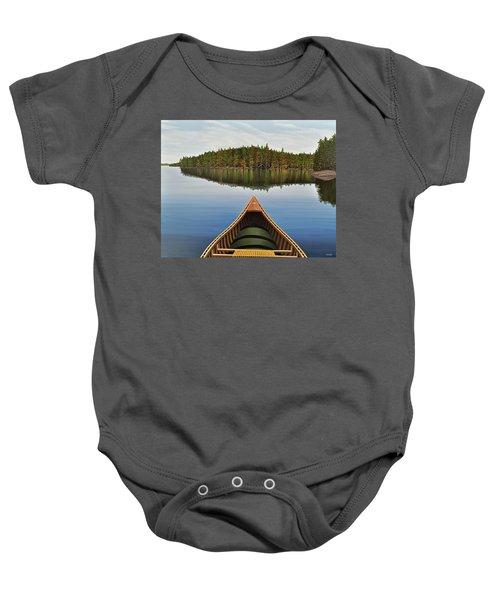 Evening Paddle  Baby Onesie
