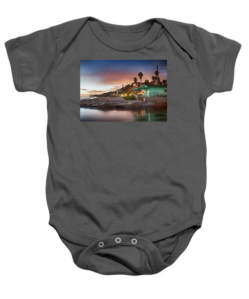 Evening Reflections, Crystal Cove Baby Onesie