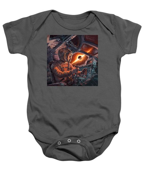 Event Horizon Baby Onesie
