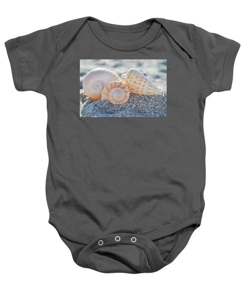 Every Shell Has A Story Baby Onesie