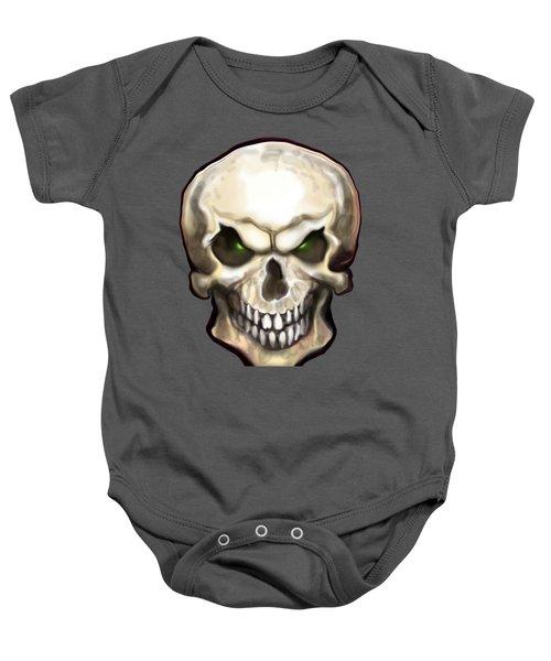Evil Skull Baby Onesie