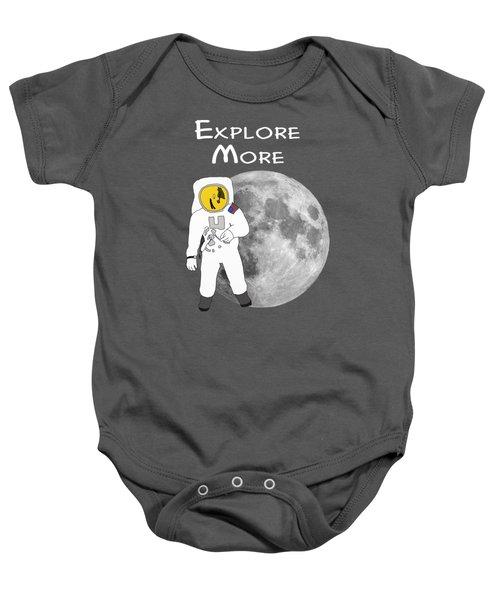 Explore The Universe Baby Onesie by Priscilla Wolfe