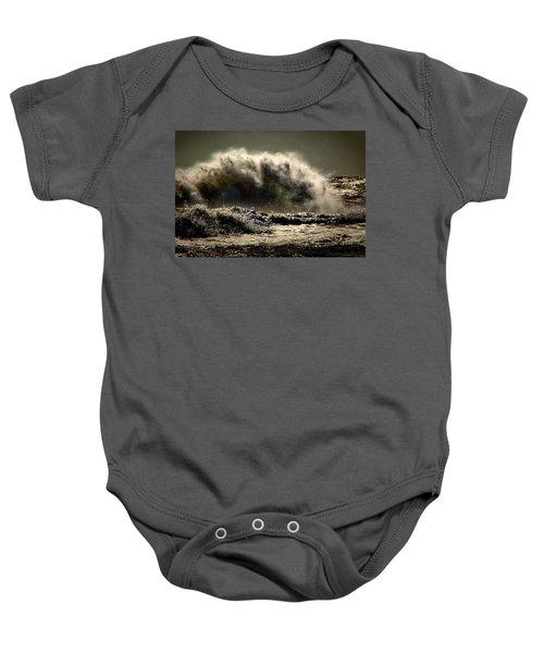 Explosion In The Ocean Baby Onesie