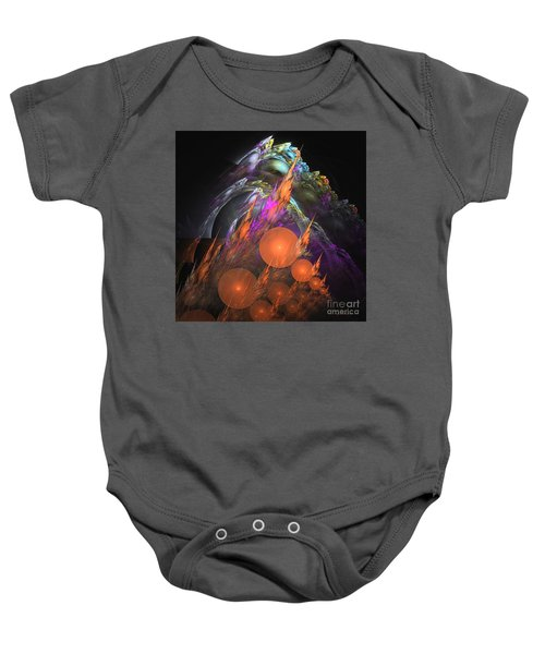 Exuberant - Abstract Art Baby Onesie