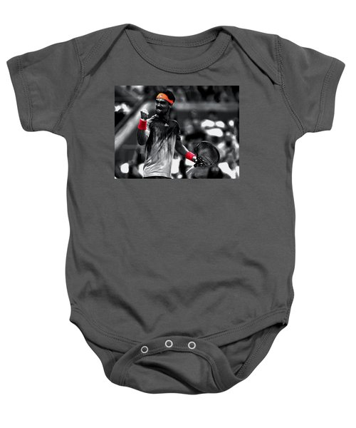 Fabio Fognini Baby Onesie by Brian Reaves
