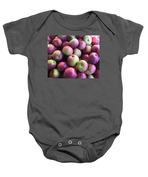 Fabulous Fall Fruits Baby Onesie