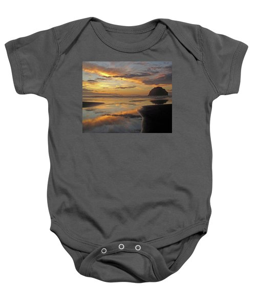 Face Rock Beauty Baby Onesie