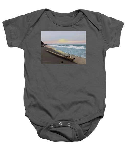 Face To The Morning Baby Onesie