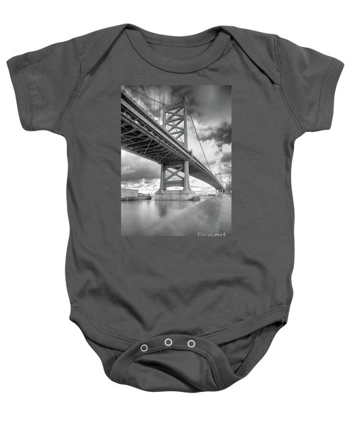 Fade To Bridge Baby Onesie