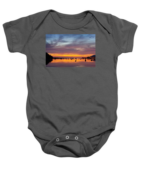 Fading Light, Conwy Estuary Baby Onesie
