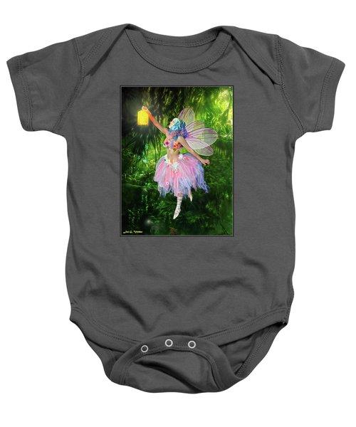 Fairy With Light Baby Onesie
