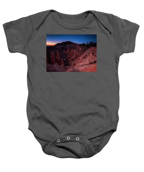 Fairyland Canyon Baby Onesie