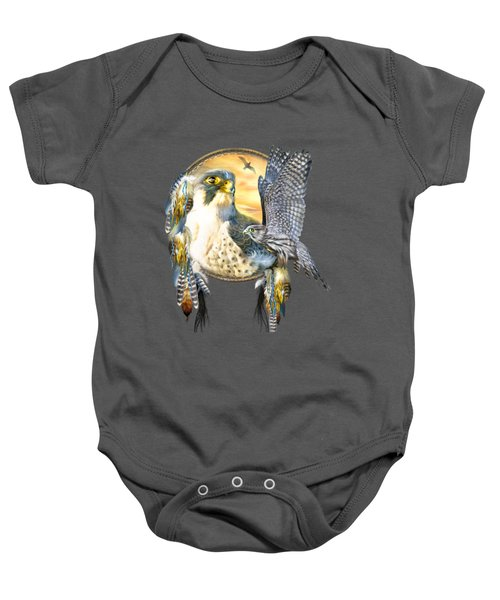 Falcon Dreams Baby Onesie