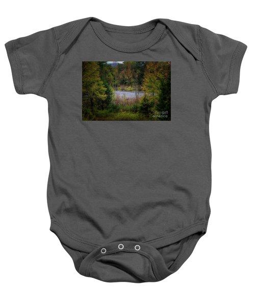Fall At Fane Creek Baby Onesie