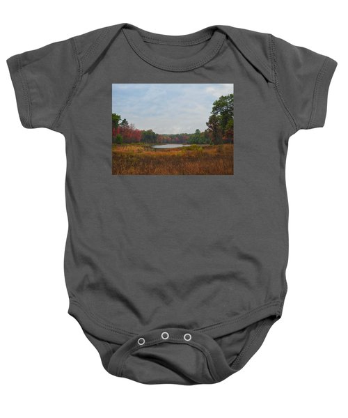 Fall Colors At Gladwin 4459 Baby Onesie