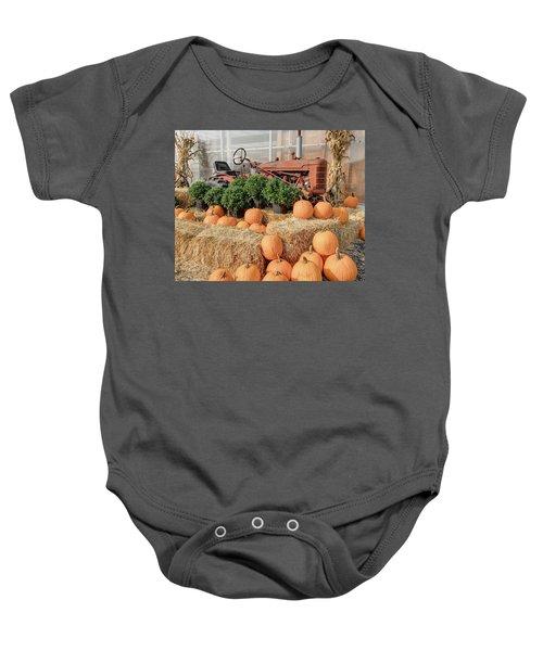 Fall Display Baby Onesie