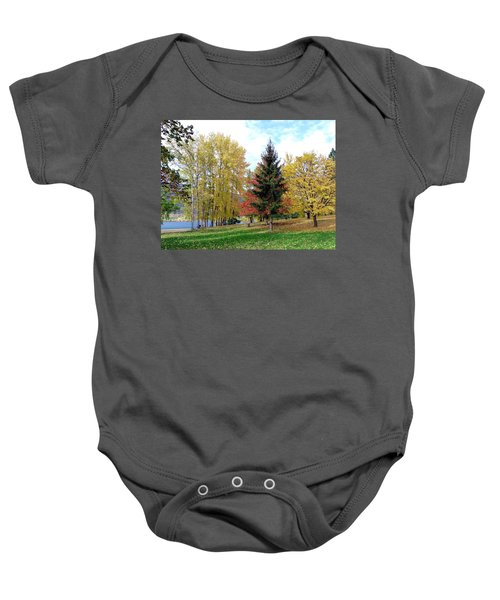 Fall In Kaloya Park 1 Baby Onesie