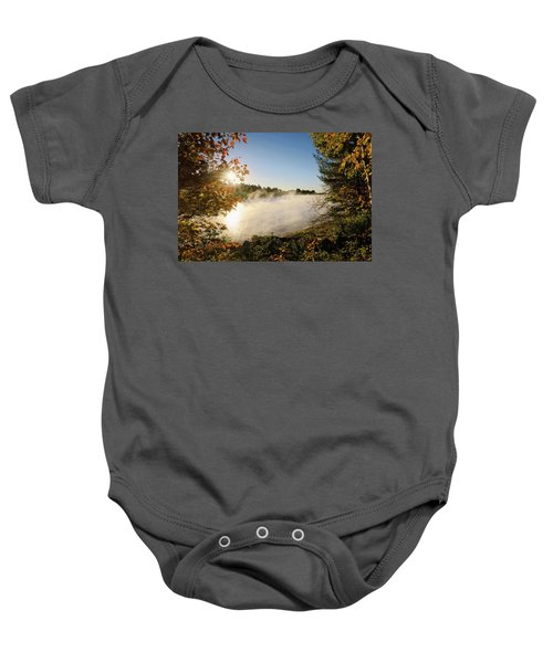 Fall In New England Baby Onesie