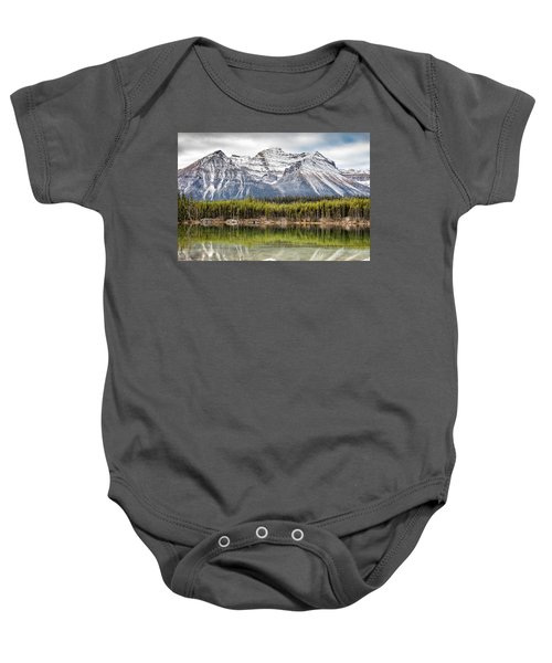 Fall In The Canadian Rockies Baby Onesie