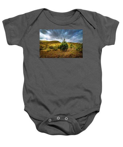 Fall In The Ozarks Baby Onesie