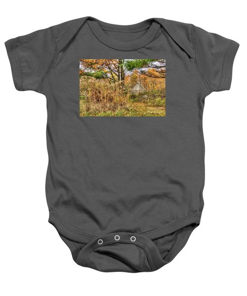 Fall In The Woods Baby Onesie