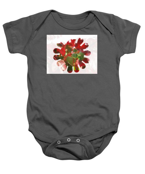 Fall Leaves #9 Baby Onesie