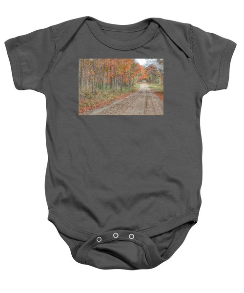 9018 - Fall On Murphy Lake Iv Baby Onesie