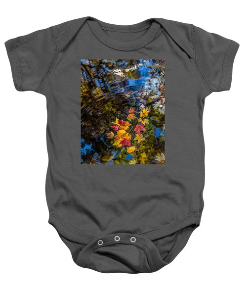 Fall Reflection - Pisgah National Forest Baby Onesie