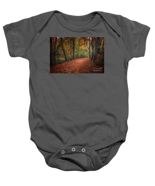 Fall Trail Baby Onesie
