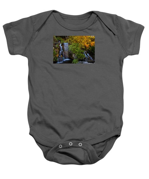 Fall Water Fall Baby Onesie