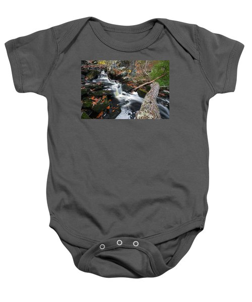 Fallen In Danforth Falls Baby Onesie