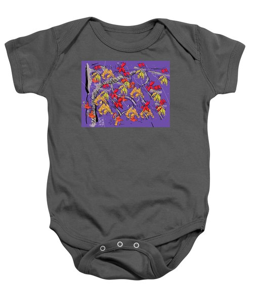 Fallen In Love Baby Onesie