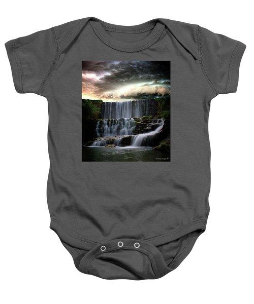 Falls At Mirror Lake Baby Onesie
