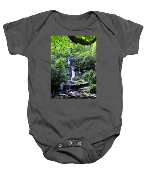 Falls Near Bryson City Baby Onesie