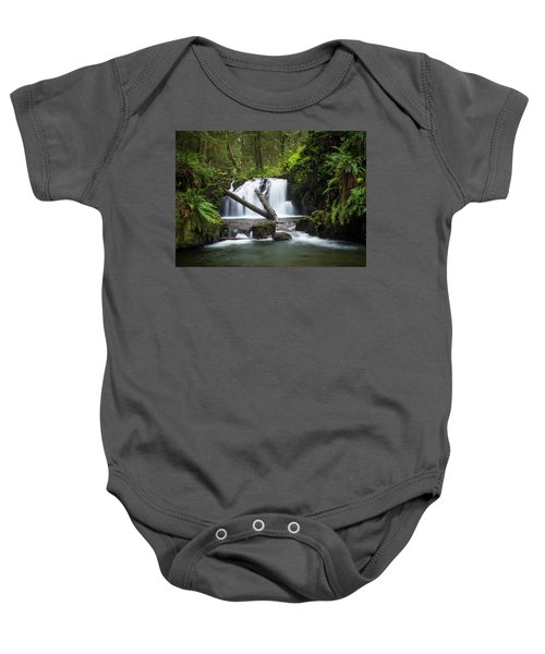 Falls On Canyon Creek Baby Onesie