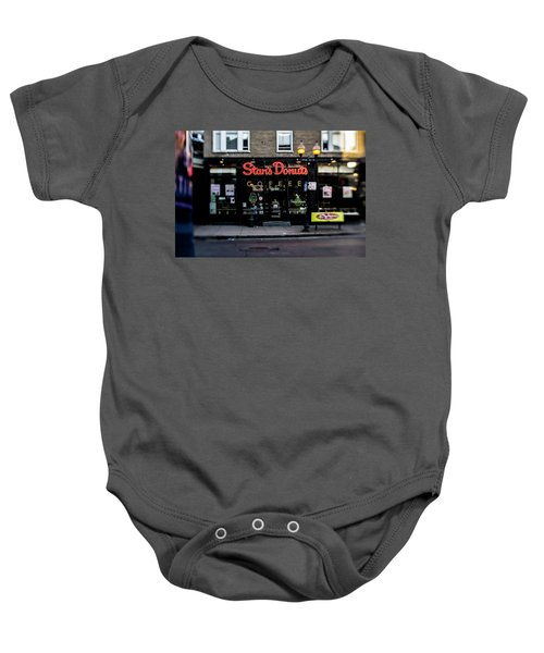 Famous Chicago Donut Shop Baby Onesie
