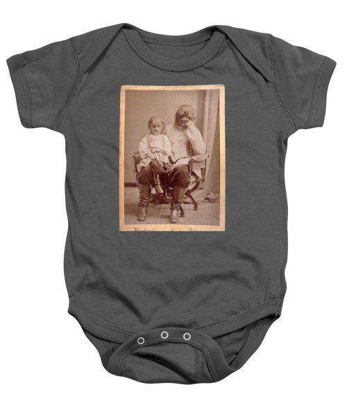 Famous Russian Sideshow Performer Jo-jo The Dog-faced Boy Baby Onesie