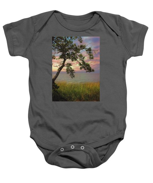 Farewell To Another Day Baby Onesie