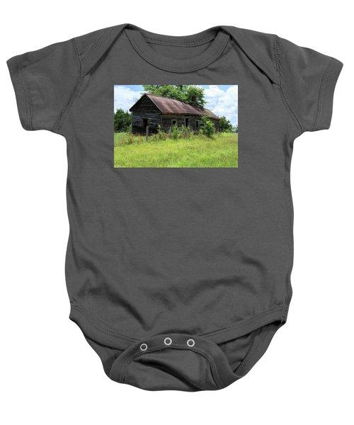 Farmhouse Abandoned Baby Onesie