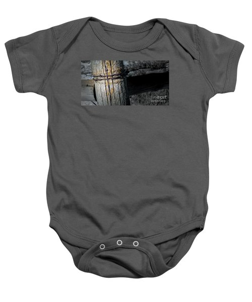 Farming Cross Baby Onesie
