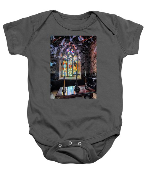 Farne Island Church Baby Onesie