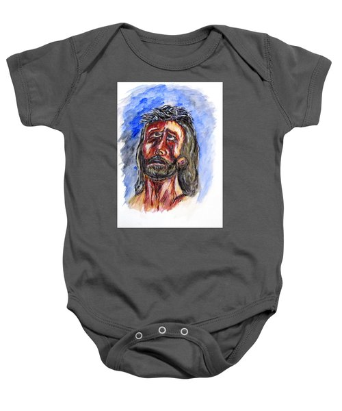 Father Forgive Them Baby Onesie
